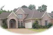European Style House Plan - 3 Beds 2.5 Baths 2552 Sq/Ft Plan #81-1508 Exterior - Front Elevation