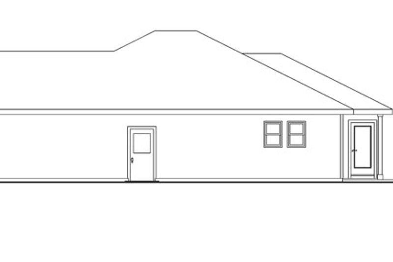 Craftsman Exterior - Other Elevation Plan #124-775 - Houseplans.com