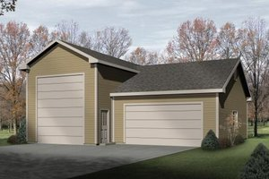 House Plan Design - Traditional Exterior - Front Elevation Plan #22-407