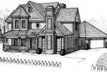 Farmhouse Exterior - Front Elevation Plan #310-114