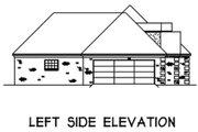 European Style House Plan - 3 Beds 2 Baths 1556 Sq/Ft Plan #16-120
