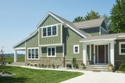 Bungalow Style House Plan - 3 Beds 2.5 Baths 2904 Sq/Ft Plan #928-330 Exterior - Front Elevation
