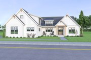Contemporary Style House Plan - 3 Beds 3.5 Baths 2489 Sq/Ft Plan #1070-86 Exterior - Front Elevation