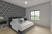 Farmhouse Style House Plan - 2 Beds 2 Baths 928 Sq/Ft Plan #126-175 Interior - Master Bedroom
