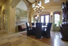 Home Plan - Mediterranean Interior - Dining Room Plan #80-124