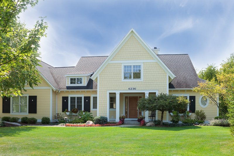 Architectural House Design - Cottage Exterior - Front Elevation Plan #901-139
