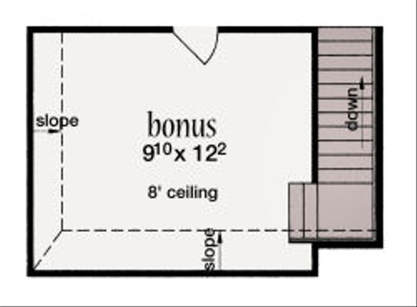 European Floor Plan - Other Floor Plan Plan #36-484