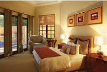 Architectural House Design - Mediterranean Interior - Master Bedroom Plan #930-22