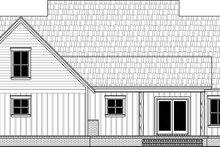 Dream House Plan - Farmhouse Exterior - Rear Elevation Plan #21-462