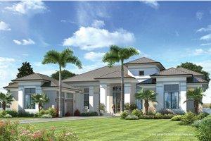 Mediterranean Modern Home Plans New Homes in Florida