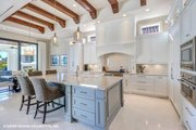 Mediterranean Style House Plan - 3 Beds 3.5 Baths 3700 Sq/Ft Plan #930-511