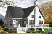 Country Style House Plan - 3 Beds 2 Baths 1579 Sq/Ft Plan #23-2264