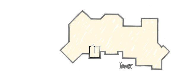 Prairie Floor Plan - Lower Floor Plan Plan #942-37
