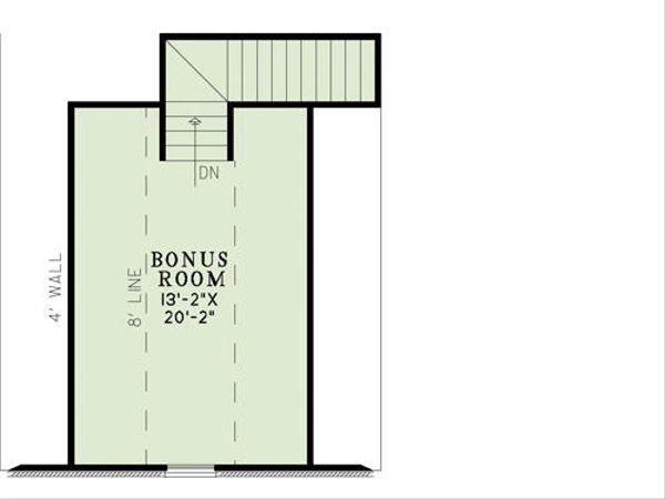 European Floor Plan - Other Floor Plan Plan #17-2453