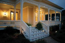 Home Plan - Victorian Exterior - Outdoor Living Plan #410-104