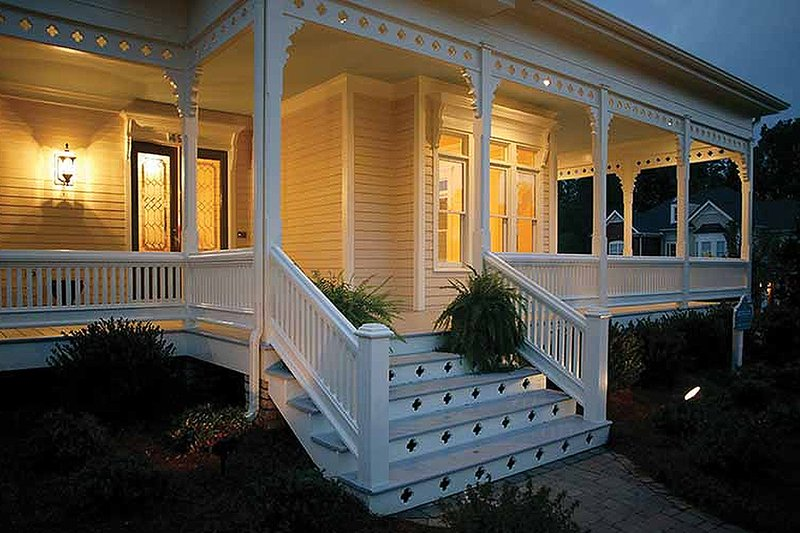 Victorian Exterior - Outdoor Living Plan #410-104 - Houseplans.com