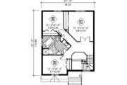 Modern Style House Plan - 3 Beds 1.5 Baths 1497 Sq/Ft Plan #25-4230 Floor Plan - Upper Floor Plan