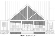 Country Style House Plan - 3 Beds 2.5 Baths 2100 Sq/Ft Plan #932-359 Exterior - Front Elevation
