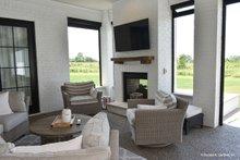 House Plan Design - European Exterior - Outdoor Living Plan #929-1009