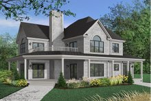 House Design - Farmhouse Exterior - Front Elevation Plan #23-383