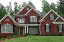 Dream House Plan - Traditional Exterior - Front Elevation Plan #54-164