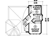 Contemporary Style House Plan - 2 Beds 1 Baths 1193 Sq/Ft Plan #25-4531 Floor Plan - Upper Floor Plan