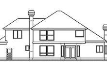Prairie Exterior - Rear Elevation Plan #48-443