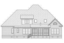 Dream House Plan - Farmhouse Exterior - Front Elevation Plan #1054-26
