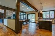 Craftsman Style House Plan - 4 Beds 5.5 Baths 4412 Sq/Ft Plan #892-28 Interior - Kitchen
