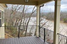 Ranch Exterior - Outdoor Living Plan #437-77