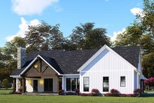 Country Exterior - Rear Elevation Plan #923-130