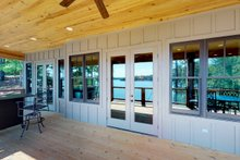 Dream House Plan - Traditional Exterior - Outdoor Living Plan #63-412