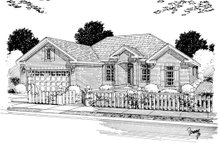 Dream House Plan - Traditional Exterior - Other Elevation Plan #513-2047
