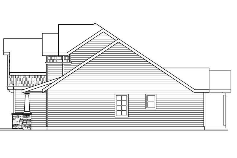 Craftsman Exterior - Other Elevation Plan #124-676 - Houseplans.com