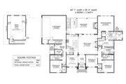 Country Style House Plan - 4 Beds 3 Baths 2666 Sq/Ft Plan #1074-46