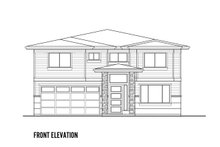 Architectural House Design - Contemporary Exterior - Front Elevation Plan #569-40