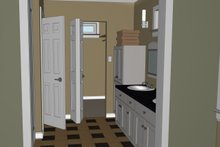 Dream House Plan - Contemporary Interior - Master Bathroom Plan #126-185