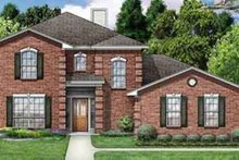 Home Plan - Traditional Exterior - Front Elevation Plan #84-180