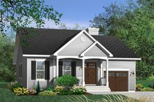 Home Plan - Cottage Exterior - Front Elevation Plan #23-349
