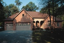 Dream House Plan - Traditional Exterior - Front Elevation Plan #20-906