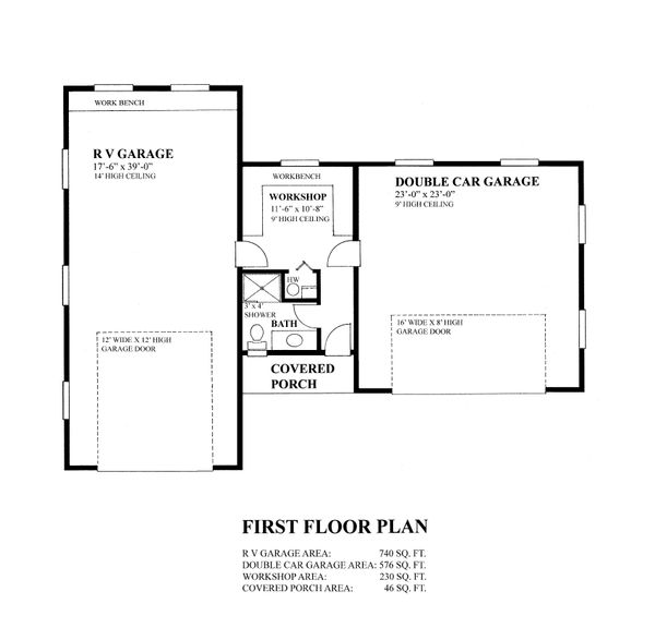 Bungalow Floor Plan - Main Floor Plan #118-131