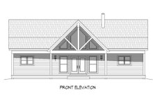 House Design - Country Exterior - Front Elevation Plan #932-15