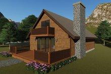 House Plan Design - Cottage Exterior - Front Elevation Plan #57-476