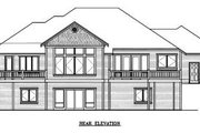 Traditional Style House Plan - 3 Beds 2.5 Baths 3329 Sq/Ft Plan #100-109 Exterior - Rear Elevation