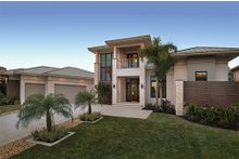 House Design - Contemporary Exterior - Front Elevation Plan #930-20