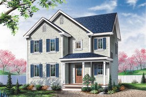 Traditional Exterior - Front Elevation Plan #23-264