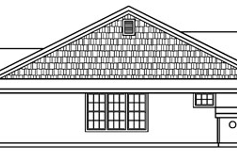 Craftsman Exterior - Other Elevation Plan #124-387 - Houseplans.com