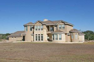 House Plan Design - Mediterranean Exterior - Front Elevation Plan #80-193