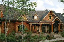 House Plan Design - Craftsman Exterior - Front Elevation Plan #54-415