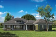 Craftsman Style House Plan - 3 Beds 2.5 Baths 2337 Sq/Ft Plan #930-462 Exterior - Rear Elevation